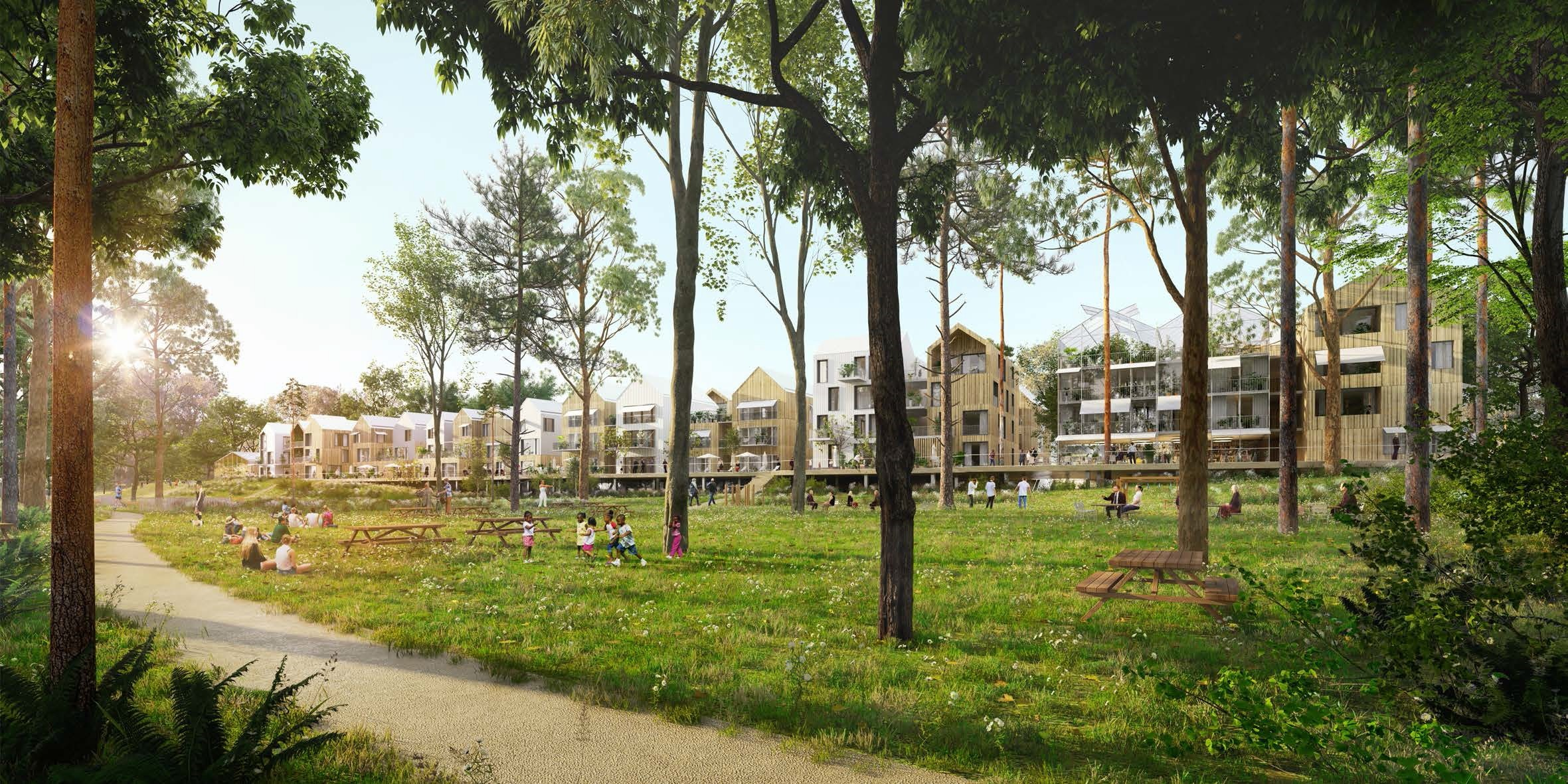 TECHNIWOOD LAUREAT ECO QUARTIER ILE DE LA MARNE