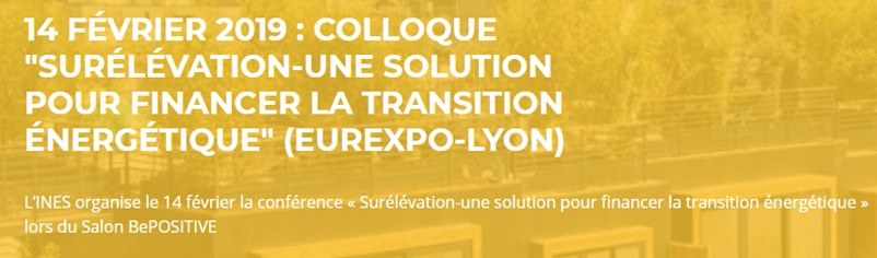 CONFERENCE SURELEVATION SALON BE POSITIVE LE 14 FEVRIER